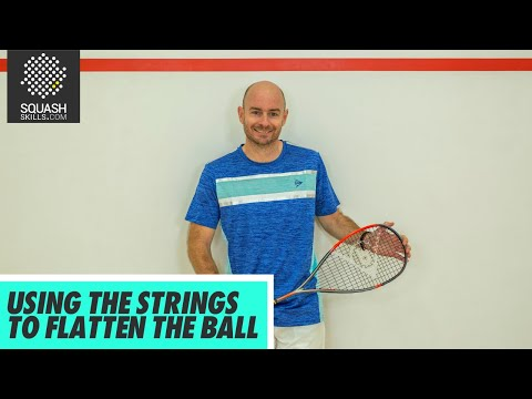Squash tips: Using The Strings To Flatten The Ball with Jesse Engelbrecht