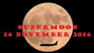 Supermoon on 14 November 2016The moon has come closer to Earth than at any other time since 1948. Sky gazers around the world are congregating near landmarks, on beaches and atop tall buildings to take a look.Supermoon on 14 November 2016The 'supermoon' reached its brightest in Asia on Monday evening.The Moon was closest - only 221,524 miles (356,509km) away - at 11:21 GMT.Supermoon on 14 November 2016The moon orbits the Earth in an ellipse, not a circle, so it is sometimes closer to the Earth than it is at other times.Supermoon on 14 November 2016When the perigee - the closest approach - and the full moon coincide, it is known as a supermoon.Supermoon on 14 November 2016This supermoon was best seen in North America early on Monday, before dawn. The UK's best chance to see it will be on Monday evening.Supermoon on 14 November 2016Supermoons appear about 14% larger and 30% brighter when compared with the furthest point the Moon gets to within its orbit.Supermoon on 14 November 2016The moon will not be this close again until 25 November 2034 - when it will be even closer, within 221,485 miles.Supermoon on 14 November 2016Those hoping to get a good picture are advised to take a photo of the moon with a reference point, like a landmark, in frame.If you're using a digital SLR - use a daylight white balance setting to capture moonlight, Nasa photographer Bill Ingalls advises.Supermoon on 14 November 2016Supermoon on 14 November 2016Supermoon on 14 November 2016Supermoon on 14 November 2016