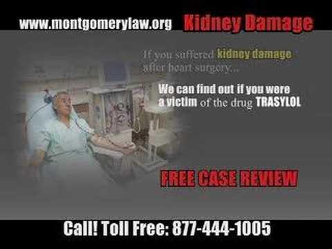 KIDNEY DAMAGE - Trasylol Recalled By Bayer