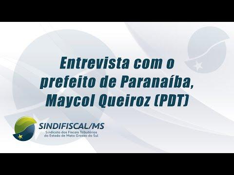 TV Sindifiscal-MS entrevista prefeito de Paranaíba | 20.01.2021