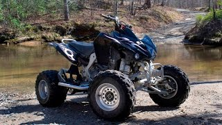 8. 2008 KFX450R with 600cc Bore Review
