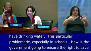 Emma Anakhasyan (RURALDAF, Armenia) review on VNR at the  HLPF 2018: UN Web TV