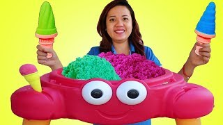 Video Color Kinetic Sand Ice Cream Crab Funny Pretend Play Toy Store MP3, 3GP, MP4, WEBM, AVI, FLV Februari 2019