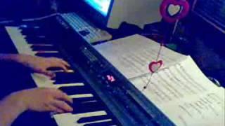 Proposal Daisakusen - Ashita Hareru Kana on piano