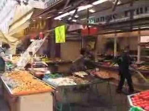 Street market, Rue Daguerre