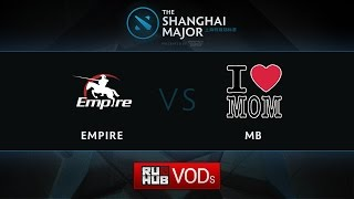 MB5 vs Empire, game 1