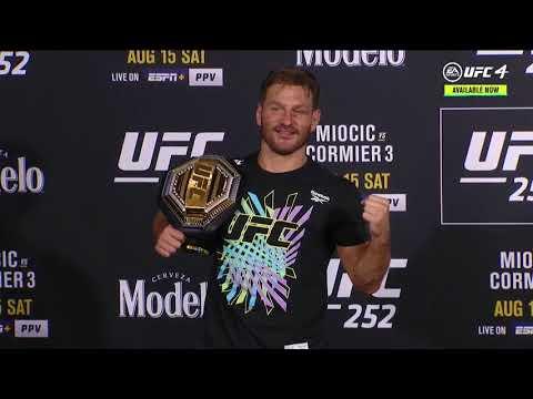 UFC 252: Stipe Miocic Post-fight Press Conference