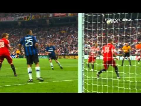 inter - bayern 2 - 0 finale 2010 champions