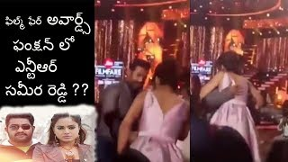 You should see how NTR hagged at jio filmfare awards function