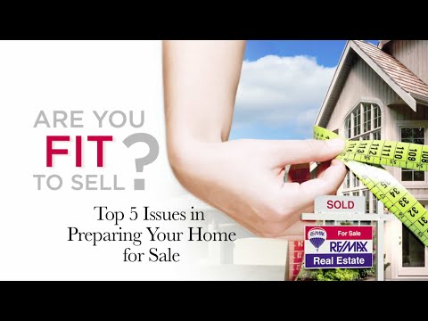 Top 5 Issues in Preparing Your Home for Sale