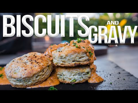 Homemade Biscuits and Chorizo Gravy | SAM THE COOKING GUY 4K