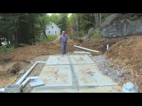 how to vent septic system
