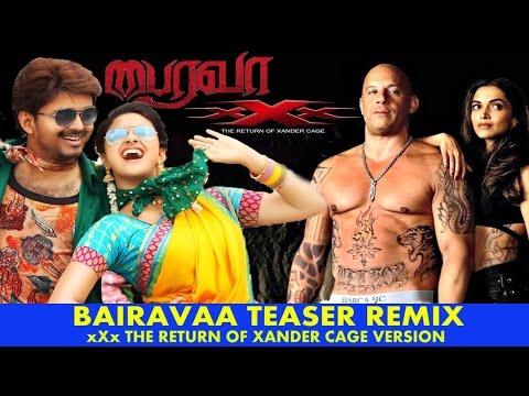 Funny Bairavaa Aka Bhairava Teaser ..