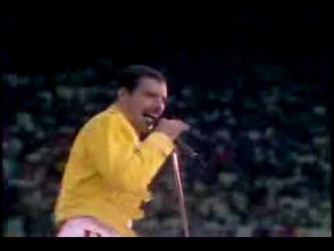 QUEEN EN WEMBLEY 1986 UNDER PRESSURE (видео)