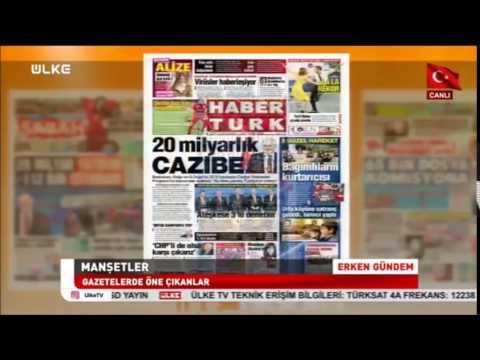 Ülke TV - Erken Gündem - Türkiye Küçükler, Yıldızlar ve Emektarlar Şampiyonaları - 25 Ocak 2017