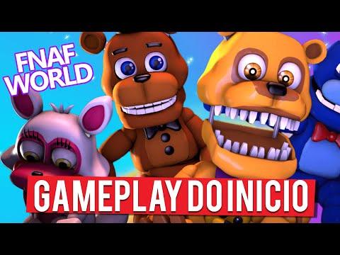Fnaf world download on ipadgameplay trailer game wallpaper