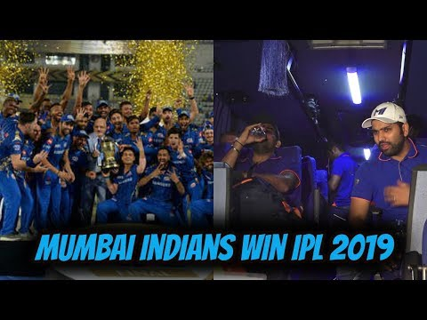 Mumbai Indians Team Returns To Mumbai After Wining IPL 2019