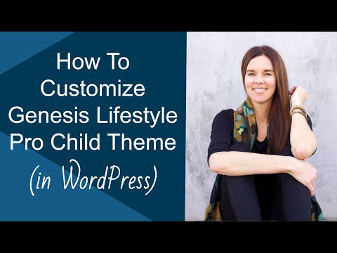 "How To Customize Genesis ""Lifestyle Pro"" Theme In WordPress 