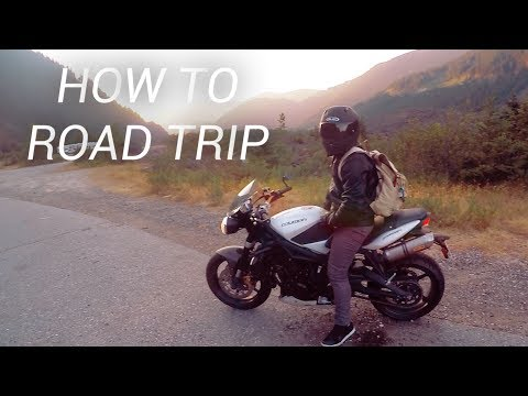 Essentials for a Motorcycle ROAD TRIP