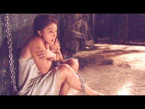 il segreto - donna francisca incatenata da feliciano ascanio