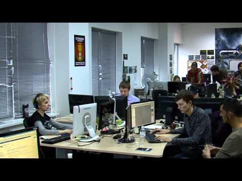 Экскурсия по студии Crytek Ukraine
