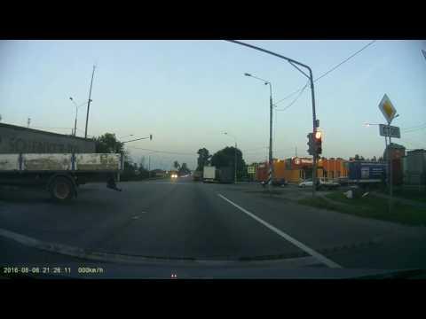 Авария на Ленинградском шоссе