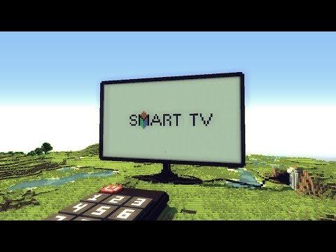 Телевизор в Minecraft.