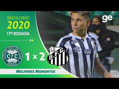 CORITIBA 1 X 2 SANTOS | MELHORES MOMENTOS | 17ª RODADA BRASILEIRÃO 2020 | ge.globo