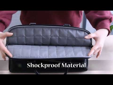 Arvok PU Leather Laptop Bag