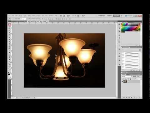 Photoshop CS5 Basic Tutorial - Cool Glowing Logo