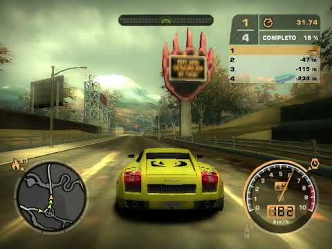COMO SELECCIONAR UN lamborghini EN NEEP FOR SPEED MOST WANTED