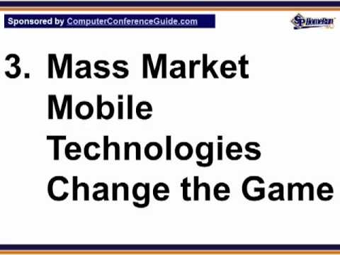 3 Technology for Marketing and Advertising 2012 (TFM&A) Takeaways (Screencast)