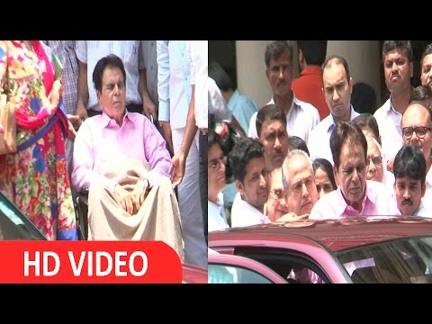 Dilip Kumar Discharge From Lilavati Hospital