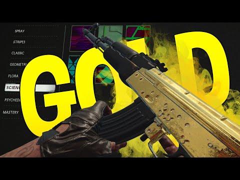 Cold War AK-47 GOLD & Wissenschaft Tarnung erklärt | Road 2 Dark Matter
