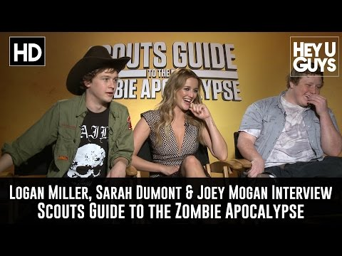 Logan Miller, Sarah Dumont & Joey Morgan Exclusive Interview - Scouts Guide to the Zombie Apocalypse