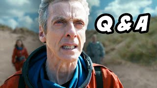Doctor Who Season 8 Episode 7 Q&A Kill The Moon. The Doctor Traveling Alone, Clara Oswald Finale Theories, Peter Capaldi Commentary and Episode 8 ...