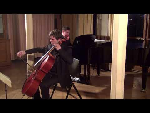 Sonate de Beethoven no. 5, op. 102 no. 2<br /> Interprétée par M.-A Novel et Ph. Hattat