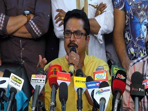 Sarathkumar Warns Vishal, Nadigar Sangam Press Meet Video