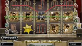 5 wild символов в бонусной игре слота Dead or Alive