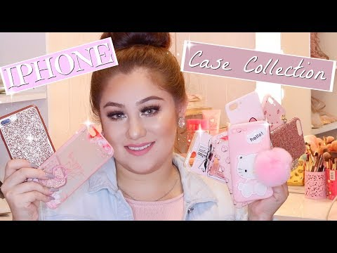 IPHONE CASE COLLECTION | CUTE GIRLY CASES