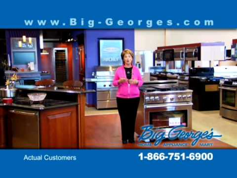 2011 Big George's Home Appliance Mart TV Commerical