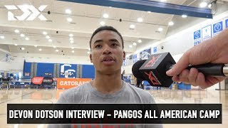 Devon Dotson Interview - Pangos All American Camp