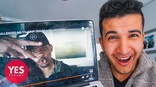 WILL SMITH ACCEPTED OUR CHALLENGE!!