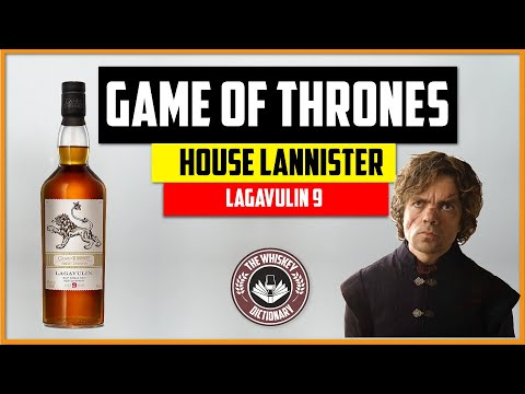 """Game of Thrones Lagavulin 9 """"House Lannister"""" 