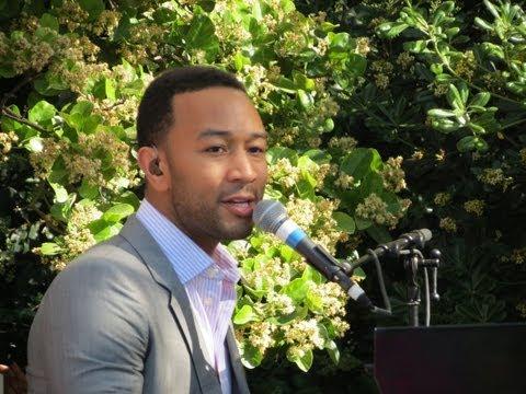 John Legend Live - Save Room at Womens Campaign International