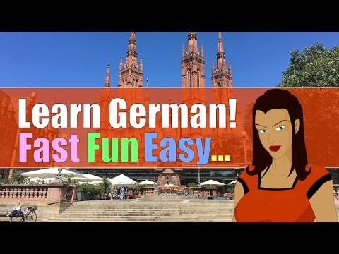 Learn German Lesson 1 - Fast, Fun, Easy and Interactive! (видео)
