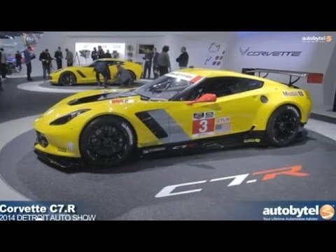 Corvette C7-R Debut Video at Detroit Auto Show