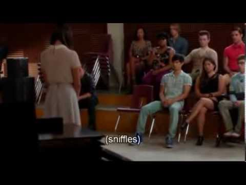 Glee – Rachel on the Death of Finn – The Quarterback