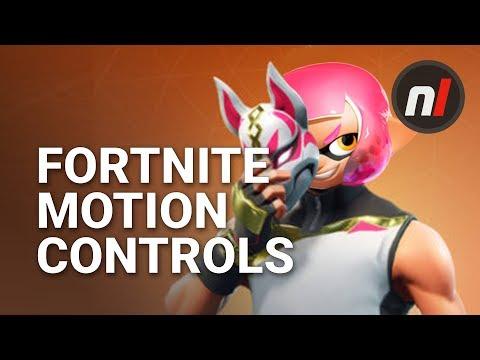 Fortnite Switch Motion Controls Are Broken & Nothing Like Splatoon 2