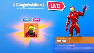 *NEW* FORTNITE AVENGERS ENDGAME EVENT FREE RIGHT NOW! LIVE EVENT(Fortnite Battle Royale)